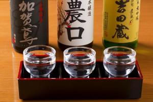 冷酒セット加賀