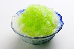 かき氷メロン